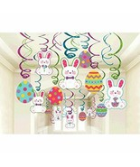 Easter Mega Value Pack Swirl Decorations (30 Pieces)  - $14.24