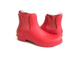 Ugg Chevonne Red Waterproof Rubber Rain Boots Us 8 / Eu 39 / Uk 6 - $45.82