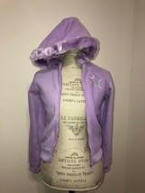 New Gloss Lavender girls Fleece hoodie 12/13 Yrs - $4.99