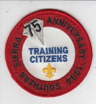 Boy Scouts America Southern Sierra Council Training Citizens Patch - $24.32