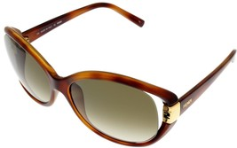 Fendi Sunglasses Women Brown Gold Oval FS5152 218  - $177.21