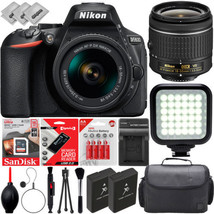 Nikon D5600 DSLR Camera w/ AF-P 18-55mm f/3.5-5.6G VR DX Zoom Lens (1576) - $499.00