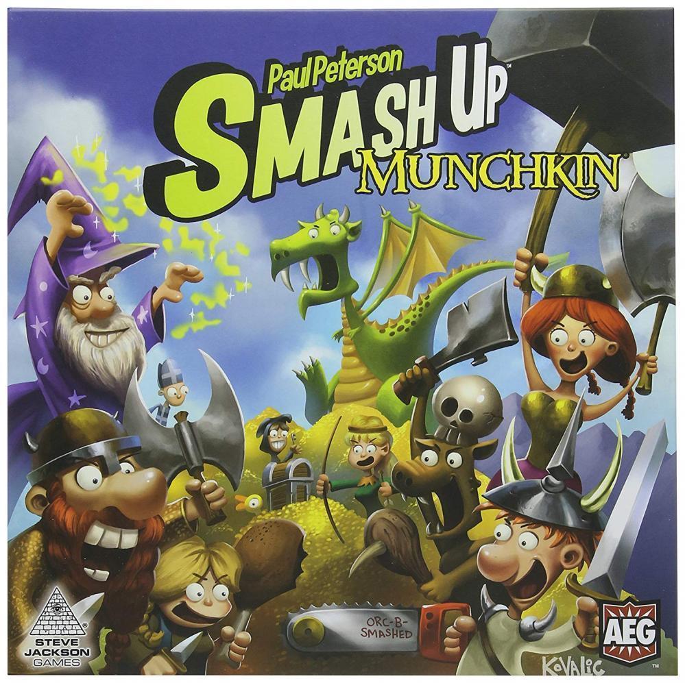 Smash Up Munchkin Card Game [New]