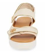 TORY BURCH WOMEN'S KIRA BEIGE/GOLD SPORT SANDALS SHOES Size US 7.5/EURO ... - $232.65