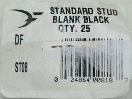 Destron Fearing ST08 Standard Stud Blank Black Male Buttons Quantity 25 image 3