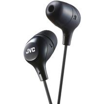 JVC(R) HAFX38B Marshmallow Inner-Ear Headphones (Black) - $34.42