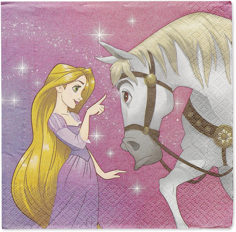 Rapunzel Dream Big Disney Tangled Kids Birthday Party Paper Luncheon Napkins - $8.17