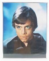 Vintage Star Wars Luke Skywalker Mark Hamill Mounted Poster - $24.74