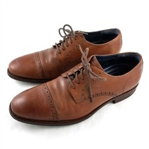 Cole Haan Grand OS Brown Leather Cap Toe Derby Oxfords Dress Shoes Mens 10.5 M - $39.52