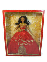 Mattel 2014 Barbie Doll Holiday Christmas AA Collector Red Dress NEW - $34.64