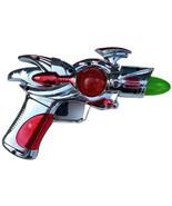 Silver Space Gun Light Up with Sound Ray Laser Alien Flash Gordon Costum... - $10.88