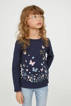 H&M Jersey Top with Printed Design for kids - $12.99