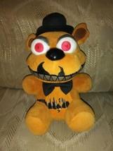 """Five Nights At Freddys Teddy Bear Plush 7"""" Funko Red Eyes Stuffed Animal... - $19.79"""