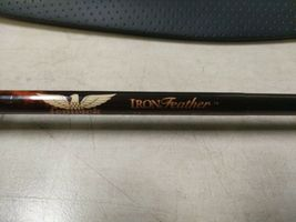 "fenwick Iron Feather IF866 8'6"" #6 3 7/16 oz Fly Rod With Case - broken tip image 5"
