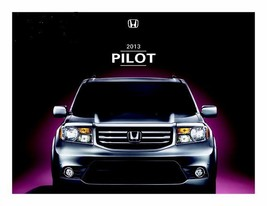 2013 Honda Pilot Brochure Brand New - $9.99