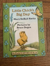 Little Chicks Big Day Childrens Book - $8.79