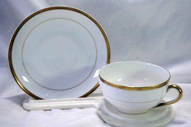 Saucer and Bread and Butter Plate Noritake Cup 1940/'s