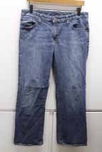 W13275 Womens Gap 1969 Blue Stretch Denim Boot Cut J EAN S 10A Petite - $28.92