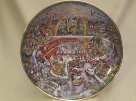 McDONALD'S collector plate GOLDEN MOMENTS - BILL BELL - FRANKLIN MINT - $19.99