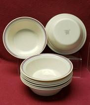 "Set Of Eight (8) Corning Corelle China Abundance Pattern - 7"" SOUP/CEREAL Bowls - $69.95"