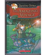 Geronimo Stilton The Amazing Voyage Third Adventure Kingdom of Fantasy 2011 - $9.00