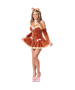 "FUZZY ""TOUCH ME TEDDY"" ADULT HALLOWEEN COSTUME WOMEN'S SIZE MEDIUM/LARGE - $40.09"