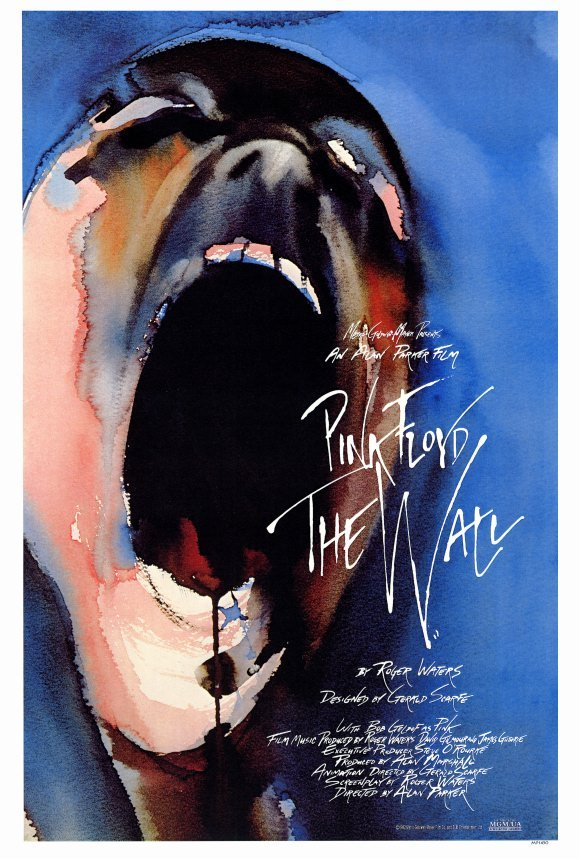 PINK FLOYD THE WALL MOVIE POSTER 27x40 inches Roger Waters 1982 RARE OOP SCREAM