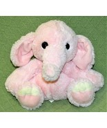 "Aurora Baby PINK Lil BENNY PHANT Bean Plush Stuffed ELEPHANT 8"" Soft GIR... - $18.69"