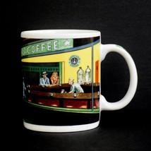 Starbucks Mug Vintage Nighthawks Diner Coffee Cup Chaleur Burrows Hopper Multi - $19.75