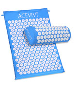 ACEVIVI Yoga Body Head Foot Massager Cushion Acupressure Mat Relieve Str... - $38.20