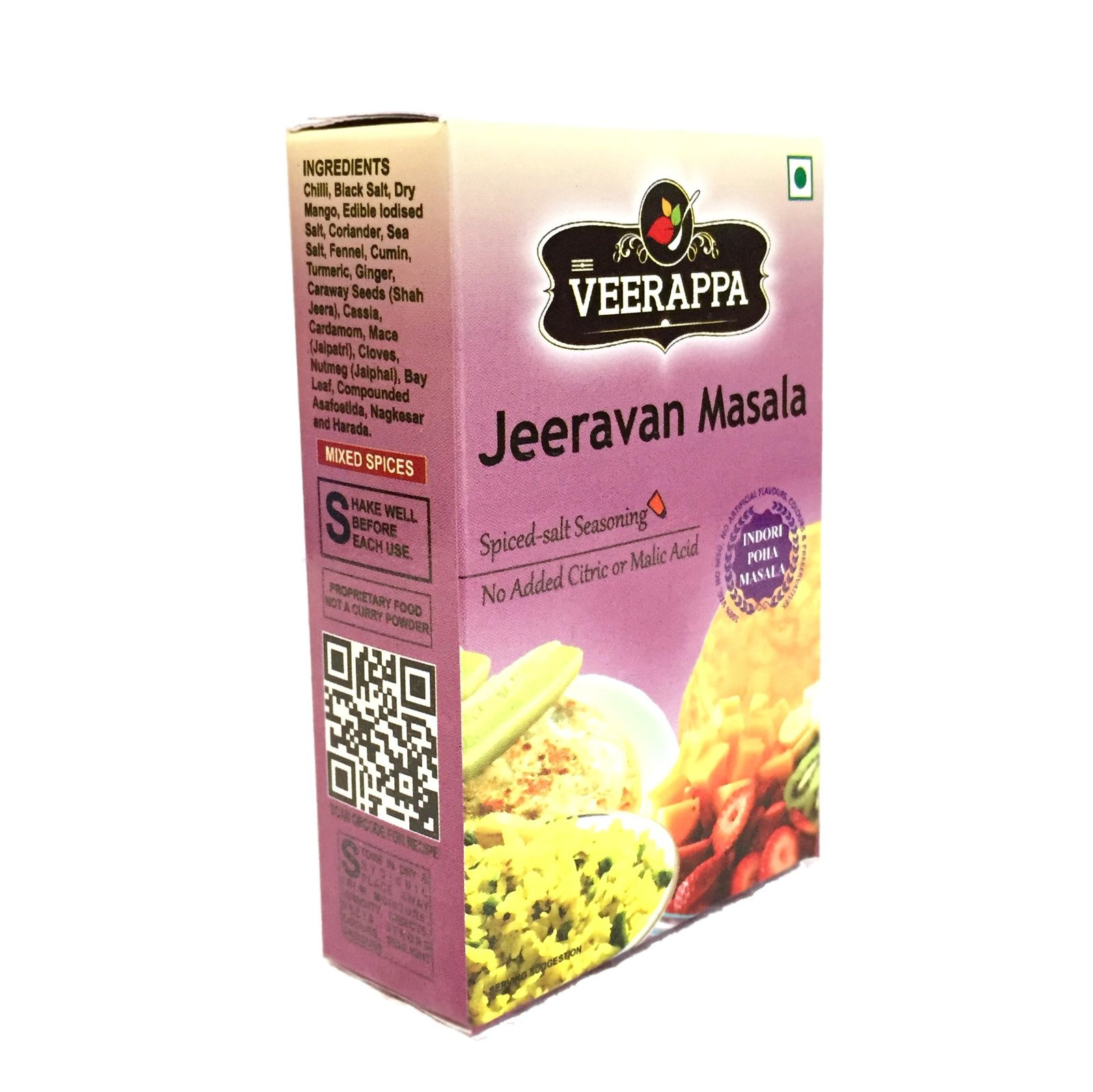 Appetizer and Seasoning Box (Pack of 4 Masala - Chai, Jaljira, Chat, Jeeravan)
