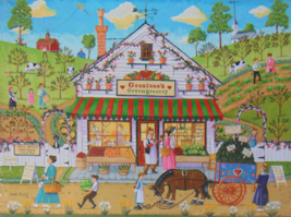 PUZZLE...JIGSAW..HOLODOOK...Graziano's Greengrocery...300 Piece...Factor... - $14.99