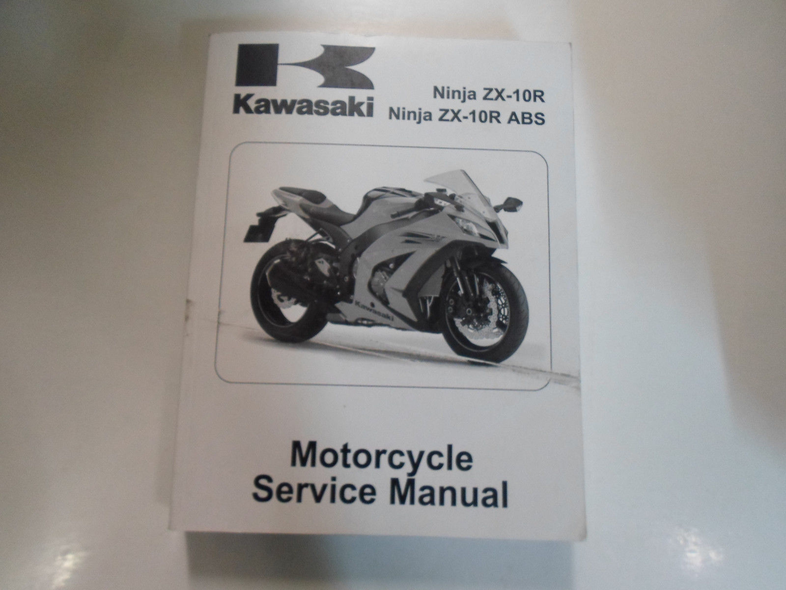 Primary image for 2011 Kawasaki Ninja ZX-10R Service Repair Shop Manual STAINED WORN FACTORY OEM
