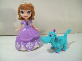 Disney Sofia The First Royal Doll Figure With Crackle Dragon Figure - $10.73
