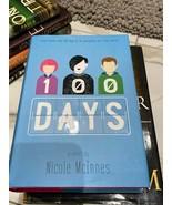 100 days Nicole Mcinnes hardcover book - $9.46
