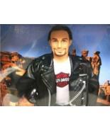 Barbie Doll 1998 Harley Davidson Black Leather Jacket Jeans Ken Mattel Used - $239.99