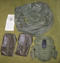 U.S. ARMY HELMET MOSQUITO NETTING COVER & U.S. & EUROPEAN MAGAZINE ... - $15.00