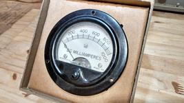 1000 DC MILIAMPERES Panel Meter - $16.57