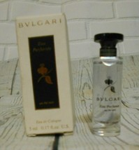 Bvlgari Eau de Cologne 0.17   5 ml US Made in Italy - $18.60