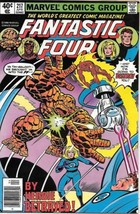 Fantastic Four Comic Book #217 Marvel Comics 1980 VERY FINE+ - $5.48