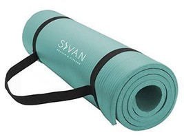 Sivan Health and Fitness 1/2-InchExtra Thick 71-Inch Long NBR Comfort Fo... - $596,88 MXN
