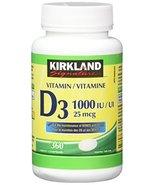 Kirkland Signature Vitamin D3 1000 IU, 360 Tablets - £15.26 GBP