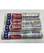 Necco The Original Candy Wafers 4 Rolls 2 oz New SEALED Candies 2023 Dates T2 - $32.66