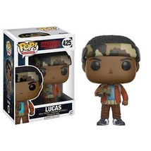 Stranger Things Funko Pop Lucas Vinyl Figure Red - $17.98