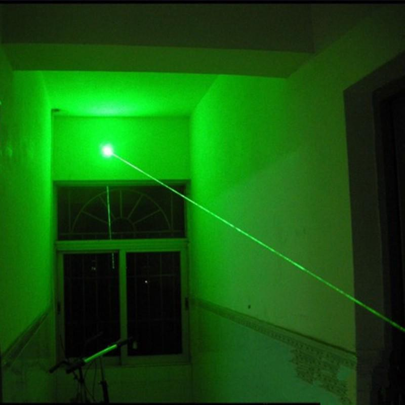 1Pcs 5mW 532nm Green Laser Pen Powerful Beam Pointer  Remote Lazer Light 5mW 1PC