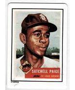 Satchell Paige 1990 R&N China Topps Porcelain Hamilton Collection Dream ... - $16.83