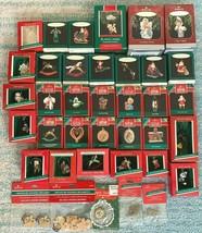 Large Hallmark Keepsake Christmas Ornaments Miniatures Lot of 32 Near Mint - £42.83 GBP