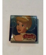 RARE Vintage DISNEY Cinderella 3 III Light Up Button Pin - $9.95