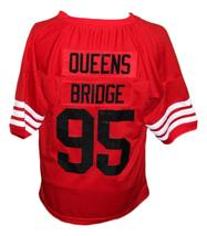 Queens Bridge #95 Shook Ones Hennessy New Men Football Jersey Red Any Size image 5