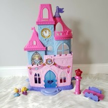 Little People Disney Princess Magical Wand Palace Castle EUC - $78.54